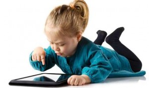 foto kinderen tablet